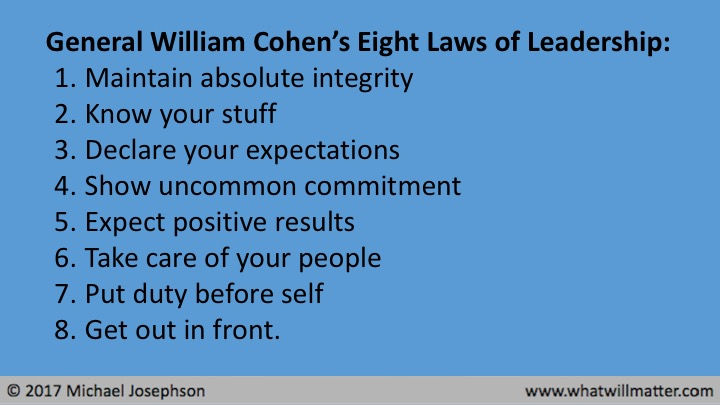 Commentary eight laws of leadership exemplary business ethics commentary eight laws of leadership exemplary business ethics leadership fandeluxe Image collections